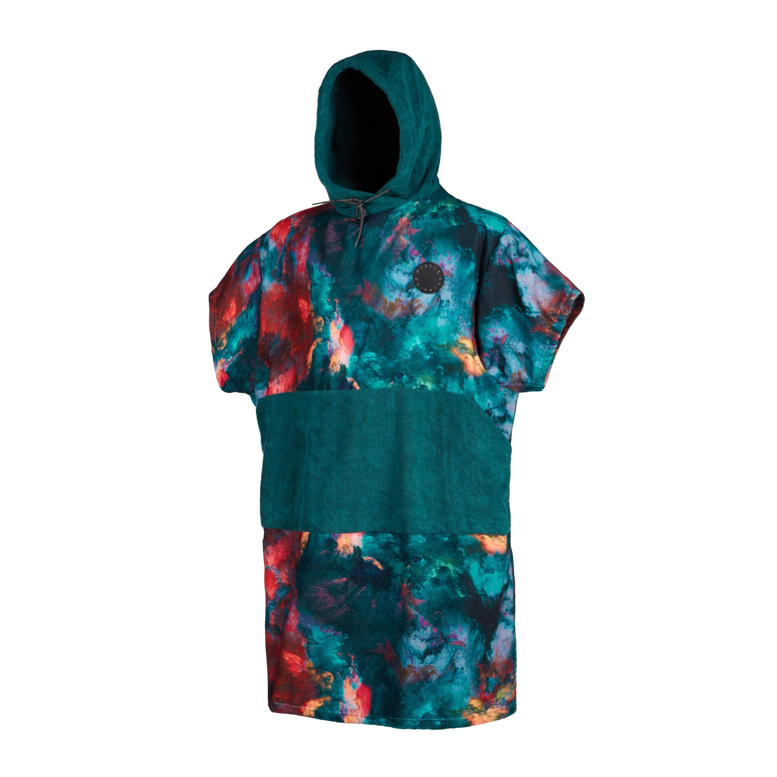 Mystic Changing Poncho - Allover  Teal