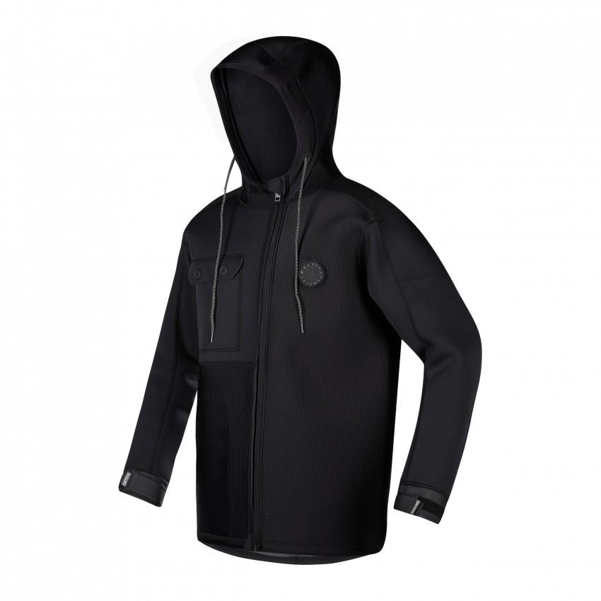 Mystic Ocean Kitesurfing Rigging Jacket Unisex Black