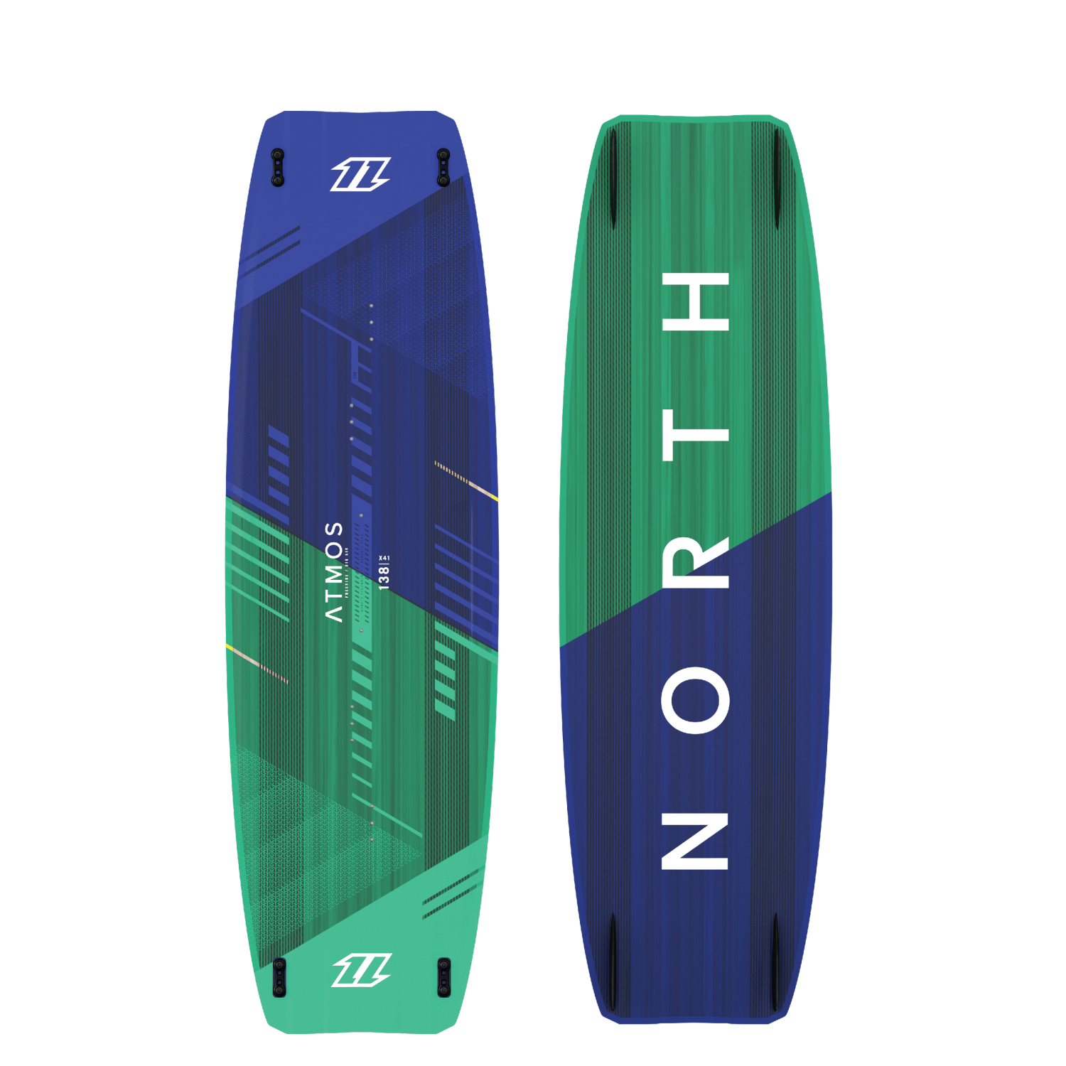 North Atmos Hybrid Twin Tip Kiteboard