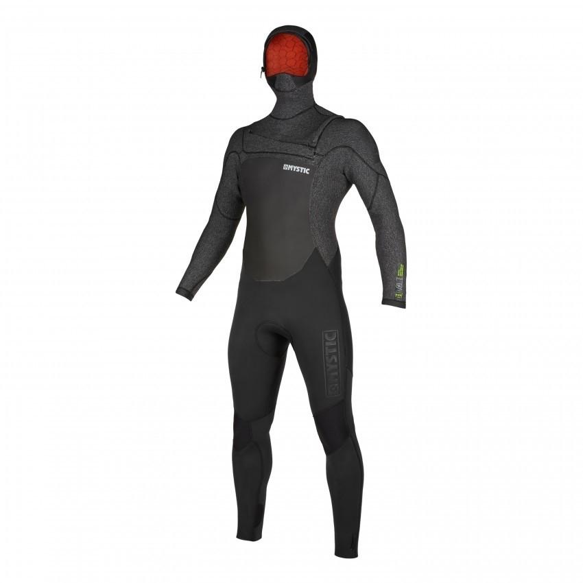 2020 Mystic Voltt Hooded Quick Dry Winter wetsuit 5/4/3mm Black