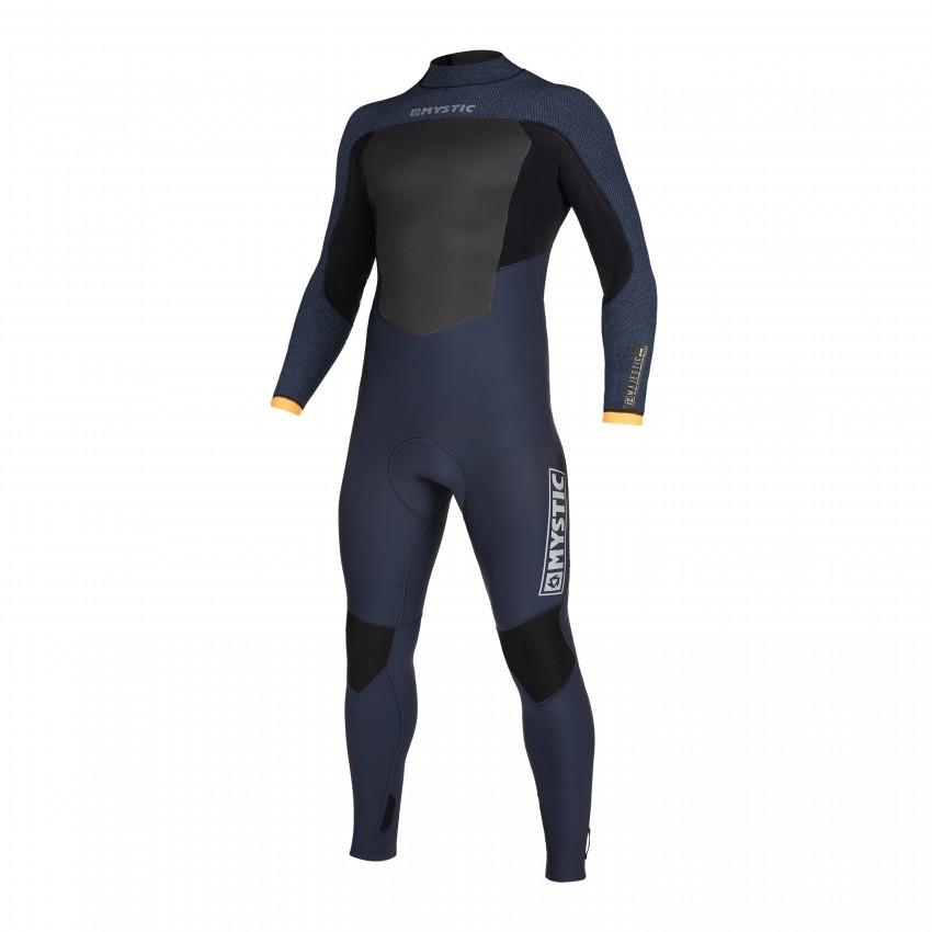 2020 Mystic Majestic Back Zip Winter Wetsuit 5/3mm Navy