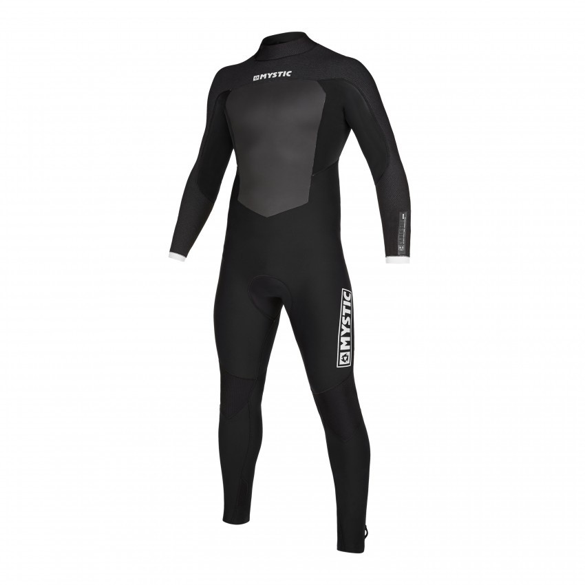 2020 Mystic Majestic Back Zip Winter Wetsuit 5/3mm Black