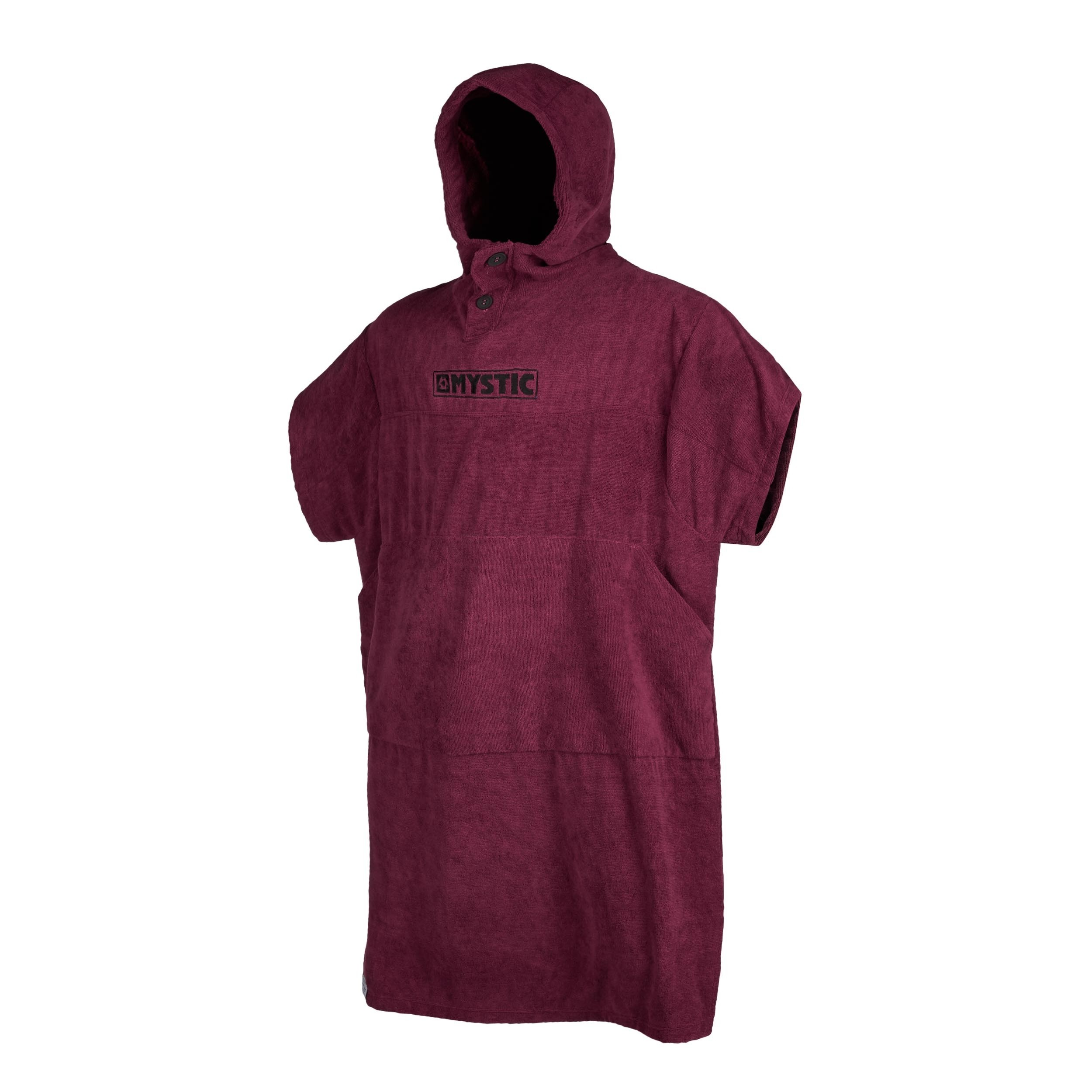 Mystic Changing Poncho - Oxblood Red