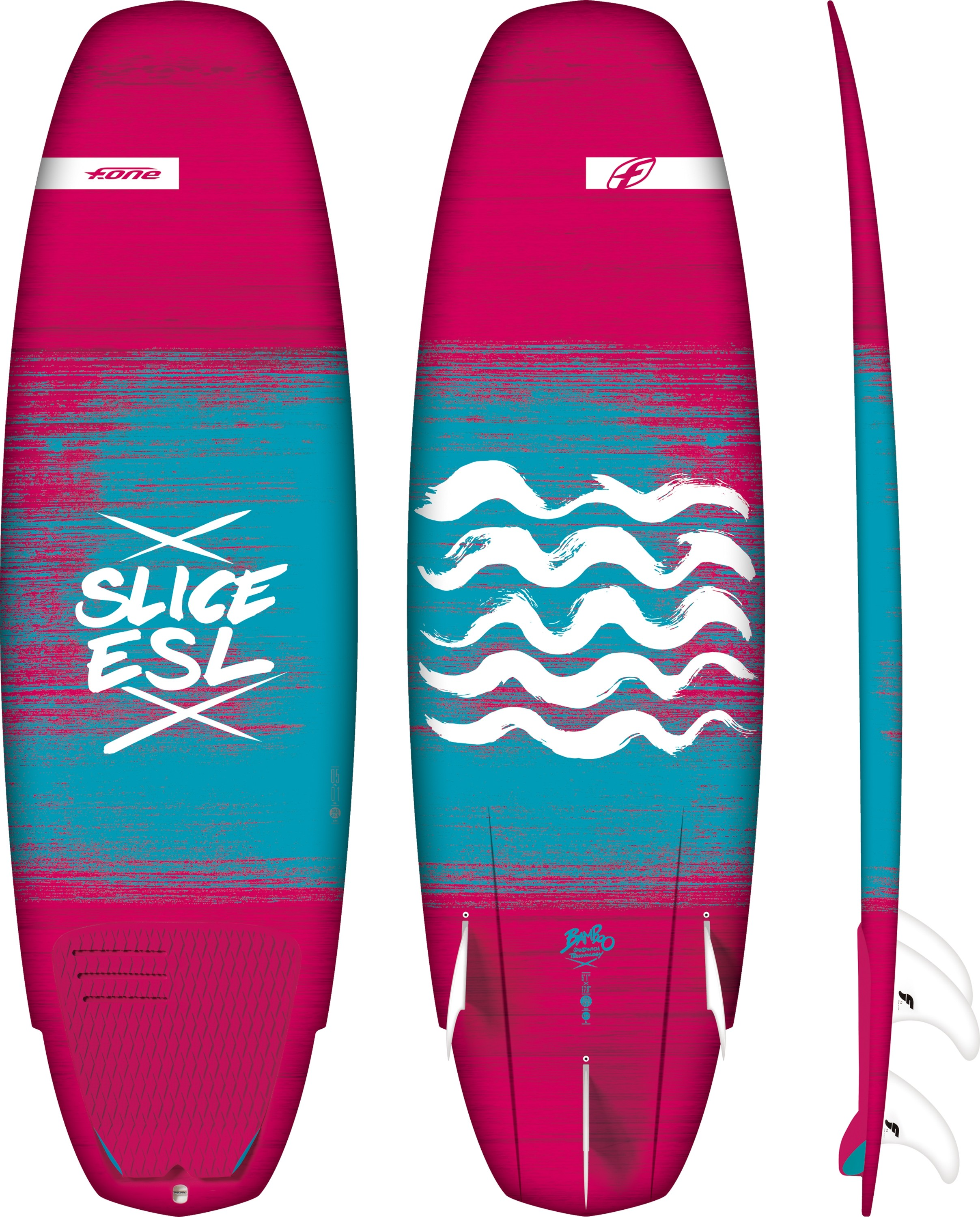 F-One slice essential surfboard
