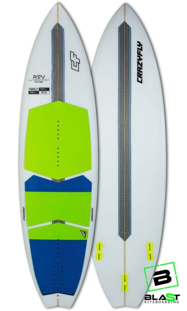 CrazyFly ATV Kite Surfboard