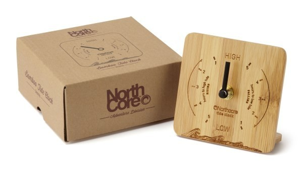Nothcore Bamboo Tide Clock