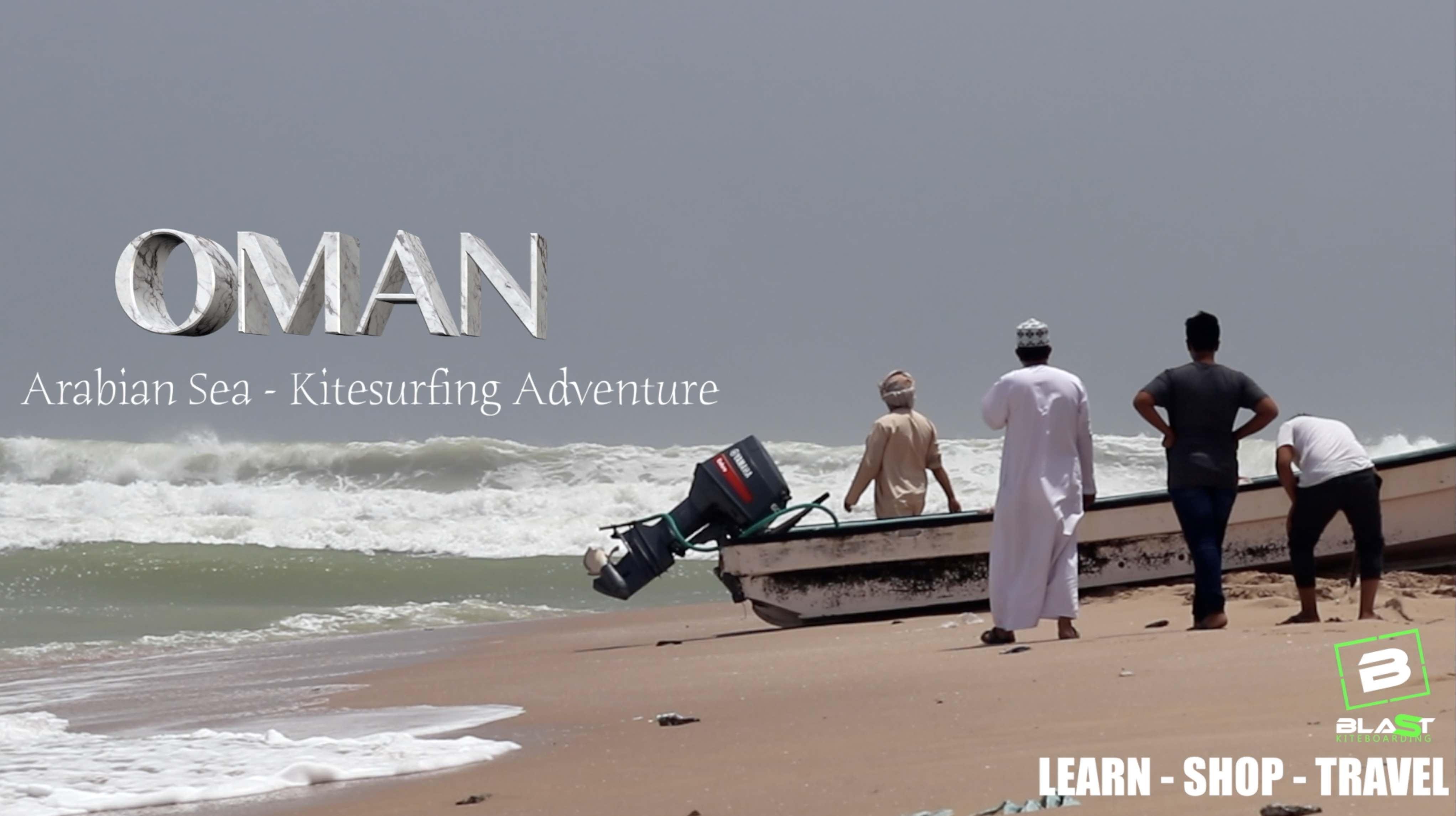 Oman Kitesurfing Holiday