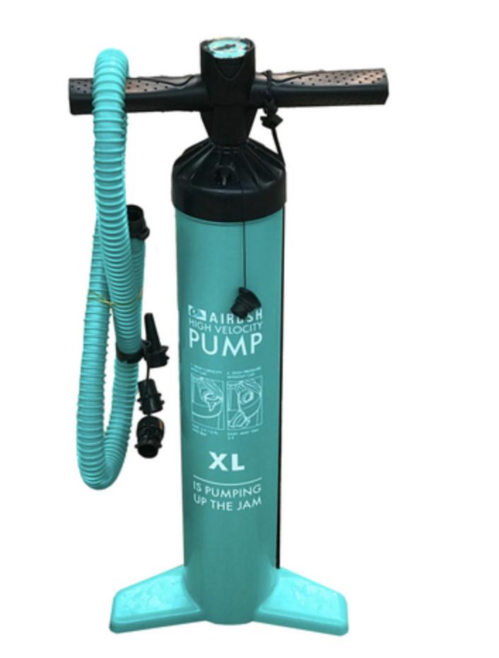 AIRUSH Kitesurf Double Action Extreme XL Kite Pump