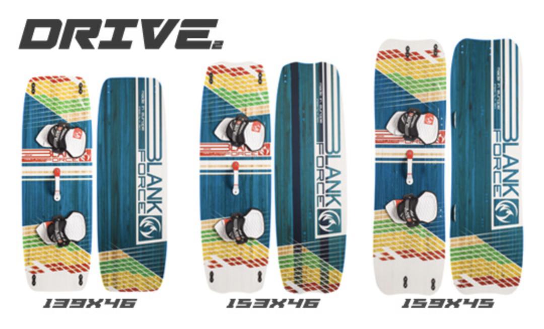 Blankforce Drive Lightwind Twin Tip Kiteboard