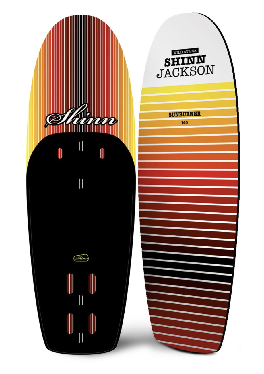 Shinn Jackson THE SUNBURNER Foil Board