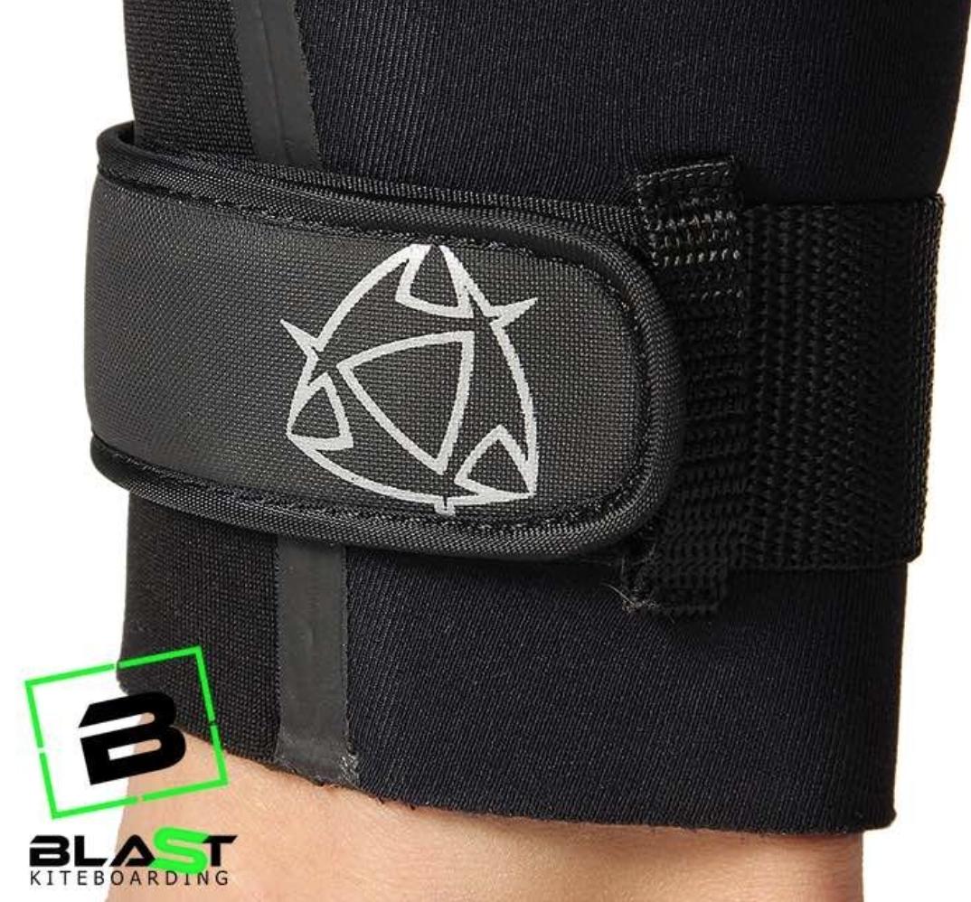 mystic velcro ankle straps wetsuit leg straps