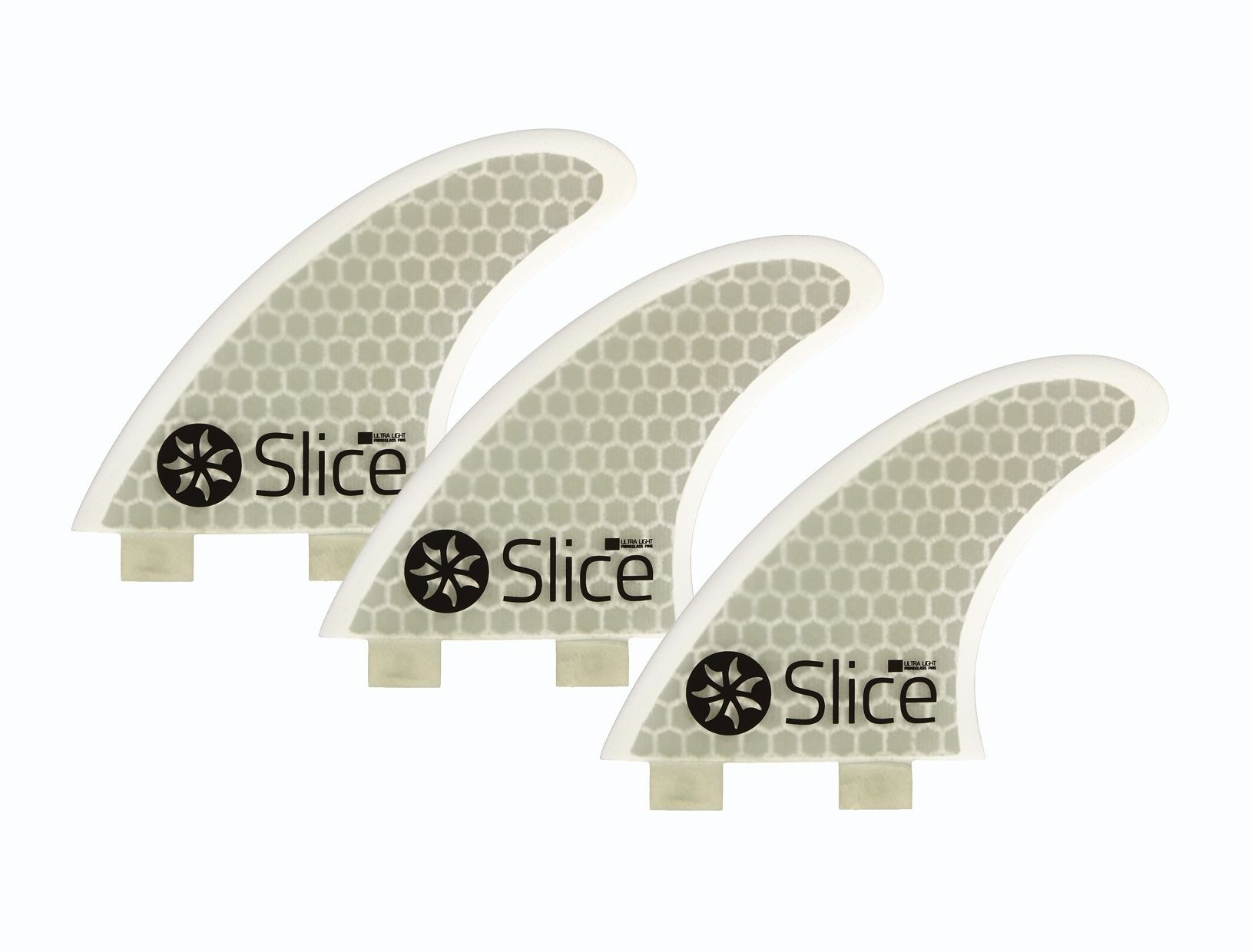 Slice Futures Ultra Light Hex Core set of 3 Fins