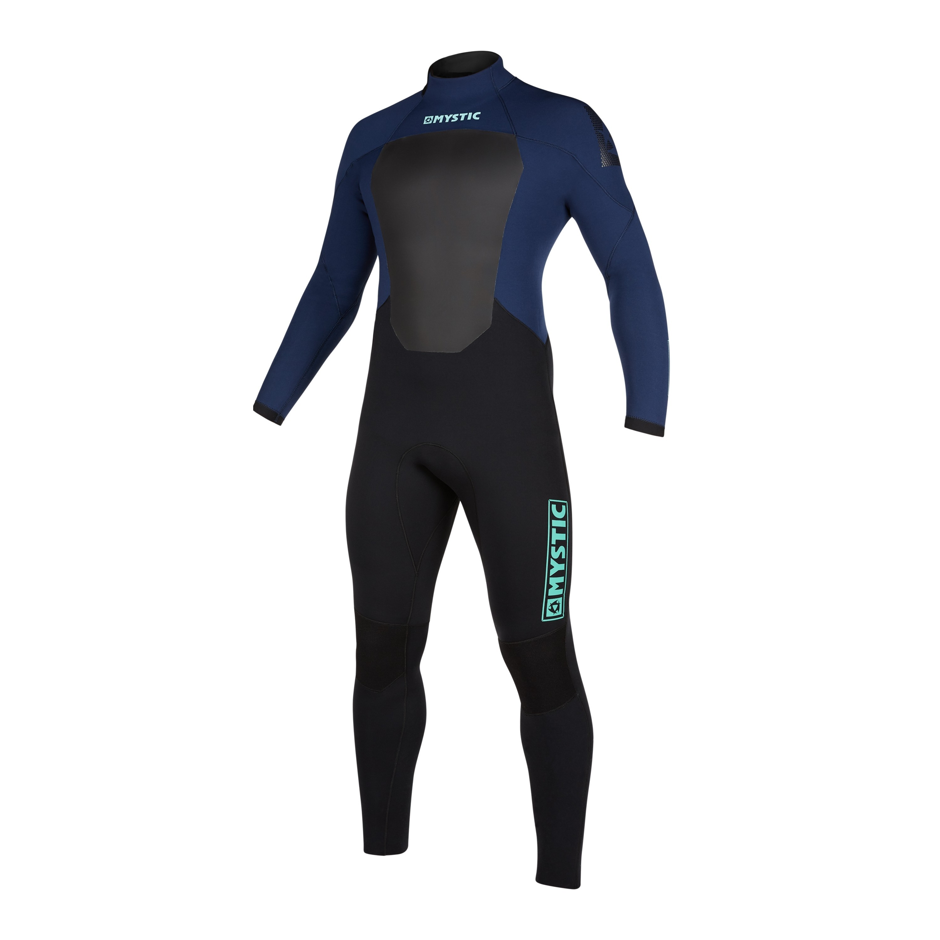 MYSTIC STAR 5/4 GBS SEALED SEAM BACK ZIP WETSUIT NAVY