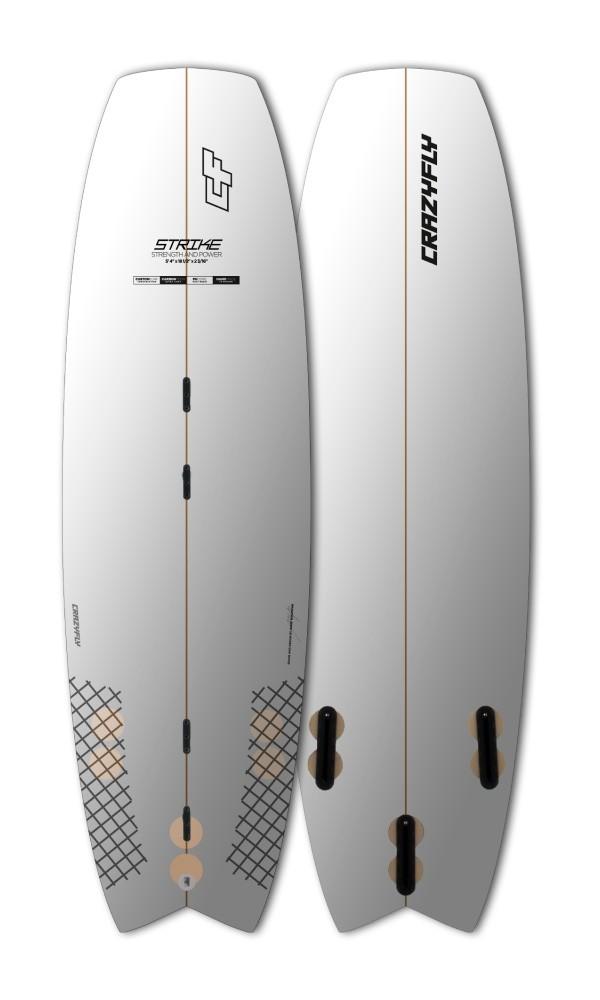 CrazyFly Strike Noseless Surfboard