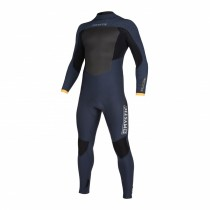 2020 Mystic Majestic Back Zip Winter Wetsuit 5/3mm Navy