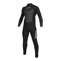 2020 Mystic Majestic Back Zip Winter Wetsuit 5/3mm Black