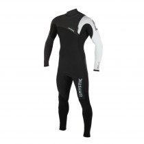 2019 MYSTIC LEN10 MAJESTIC 5/3MM FULLSUIT ZIPFREE - BLACK/WHITE