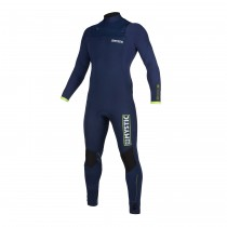 MYSTIC Marshall 5/4 Front Zip WETSUIT Navy/Lime