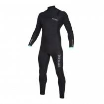 MYSTIC Marshall 5/4 Front Zip WETSUIT Black/Mint