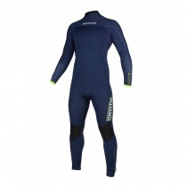 MYSTIC Marshall 5/4 Back Zip WETSUIT Navy/Lime