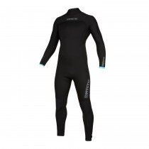 MYSTIC Marshall 5/4 Back Zip WETSUIT Black/Mint