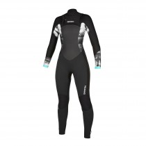 2020 Diva 5/3mm Ladies Full Wetsuit Front Zi