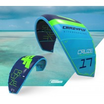 CrazyFly Cruze Lightwind Kitesurf Kite