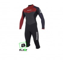 Mystic Drip Long Arm Short Leg 4/3mm wetsuit
