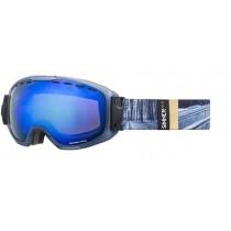 Sinner Mohawk Mt Clear Matt Blue-Purple Mirror Lens One Size RRP £79.95