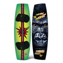 shinn monk metal kiteboard twin tip