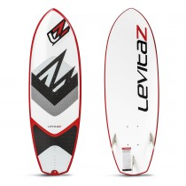 "The Levitaz Transformer is a modern 5´1"" waveboard combined with a kitefoil interface."