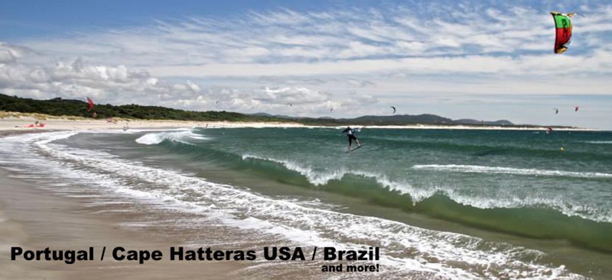Book your kitesurfing holiday with us...