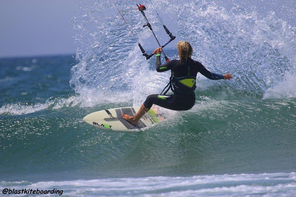 Sarah ripping in the British Wavemasters
